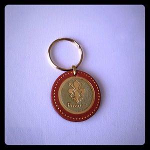 Firenze Genuine Leather Keychain